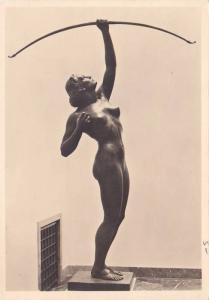 RP; Nazi Era Art, Munchen, Haus der Deutschen Kunst, Bogenschutzin, Bavaria, ...