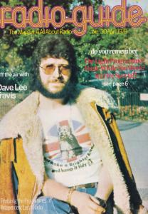 Dave Lee Travis One Radio Guide Swansea Plymouth 1976 Rare Magazine