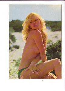 Semi Nude, Blonde Woman, Kruger, Made in Western Germany