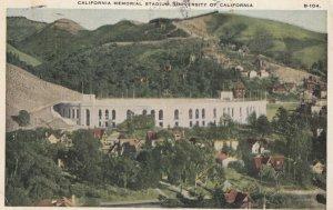 California Memorial Stadium , 1928