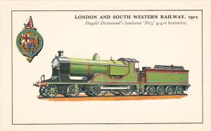 England London and South Western 1912 Dugald Drummond's D15 4-4-0 Locomotive