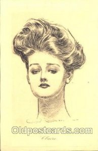 Artist Signed Charles Dana Gibson, Postcard Postcards unused