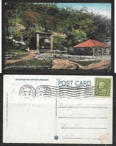 1929 Eureka Springs, Ark. Magnetic Springs