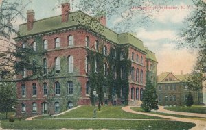 Rochester NY, New York - Anderson Hall at University of Rochester - DB