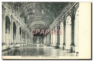 Old Postcard Palace of Versailles The Ice Room