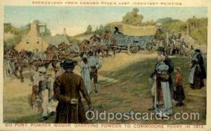 Powder Wagon to Commodore Perry, 1813 American History Postcard Post Card  Po...