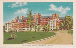 Massachusetts Springfield The Springfield Hospital 1949