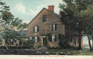 SOUTH COVENTRY , Connecticut, 1900-10s; Nathan Hale, Birth Place