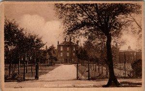WW1 COLCHESTER MILITARY HOSPITAL ESSEX UK POSTCARD PC