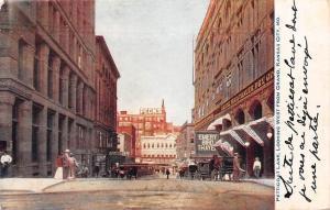 Mo. Kansas City, Petticoat Lane, West from Grand, Peck's, Emery Bird Thayer