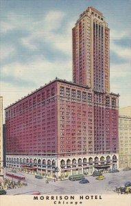 Illinois Chicago Morrison Hotel Curteich