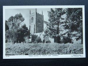 Cornwall ST. NEWLYN EAST Parish Church - Old RP Postcard by George W.F. Ellis