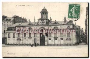 Old Postcard Le Havre Arsenal