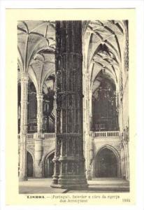Lisboa.-Portugal. Interior e coro da egreja dos Jeronymos, 00-10s