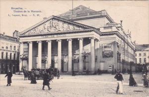 Belgium Brussells Theatre De La Monnaie