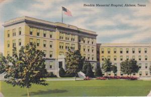 Texas Abilene Hendrix Memorial Hospital