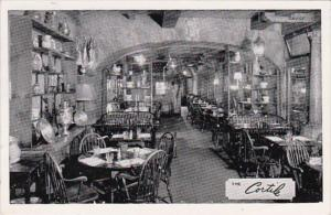 New York City The Cortile Restaurant 1951