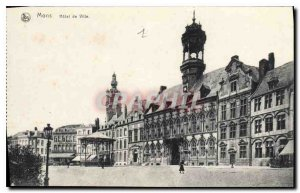 Postcard Old City of Mons Hotel