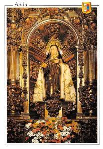 Spain Avila Image of Santa Teresa by Gregorio Fernandez