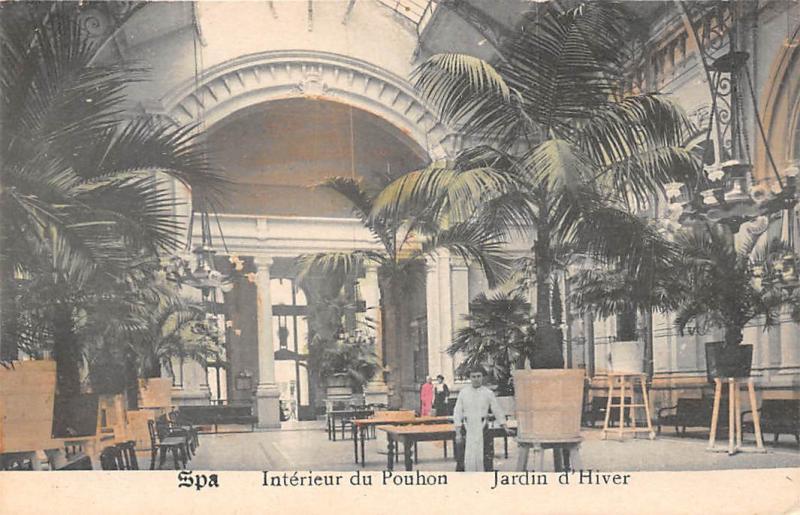 belgium spa interieur du pouhon jardin dhiver