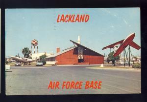 San Antonio, Texas/TX Postcard, Lackland Air Force Base/AFB, 1964!