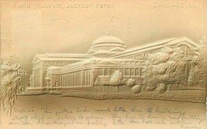 Chicago Illinois Field Museum Jackson park 1906 Embossed Postcard 21-6169