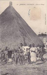 Senegal Rufisque Dans le Village