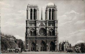 France Paris et ses Merveilles Notre Dame et le Parvis RPPC 03.37