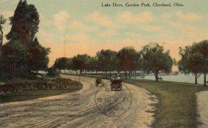 CLEVELAND, Ohio, 1910; Lake Drive, Gordon Park
