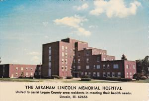 LINCOLN, Illinois, 1950-1970´s; The Abraham Lincoln Memorial Hospital