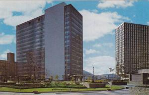 State Building & Hilton Hotel from Equitable Plaza, Pittsburgh, Pennslyvania ...