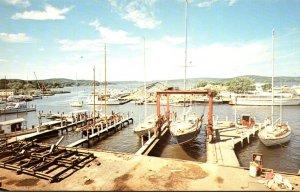 Connecticut Essex Waterfront Scene