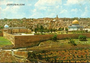 Israel Jerusalem As Seen From Mount Of Olives
