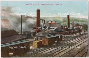 Preston Brick Works, Hornell NY