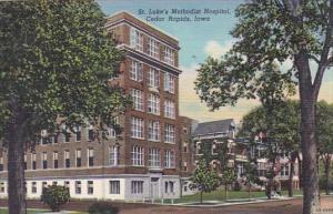 Iowa Cedar Rapids Saint Lukes Methodist Hospital 1948