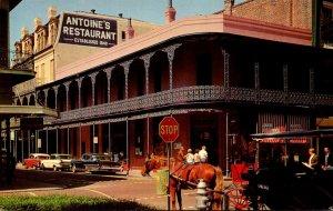 Louisiana New Orleans Anntoine's Restaurant 1970