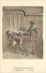 Old Postcard Wallace Collection 327 Meissonier The Bravi