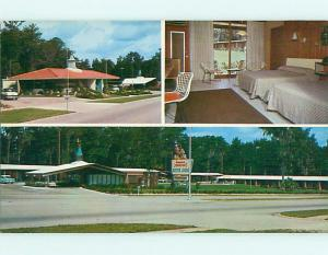Unused Pre-1980 HOJO - HOWARD JOHNSON MOTEL & RESTAURANT Ocala FL u7213-13