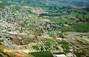 California Healdsburg Aerial View