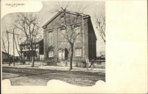 Phillipsburg NJ Main St. ME Church c1910 Postcard