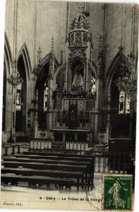 CPA CLÉRY-Le Trone de la Vierge (264518)