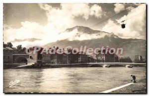 Old Postcard Grenoble Isere Tlfrique And The Moucherotte