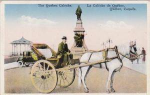 Canada Quebec La Caleche