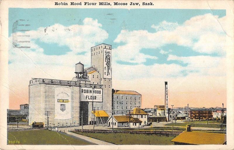 BR74335 robin hood flour mills moose jaw sask canada