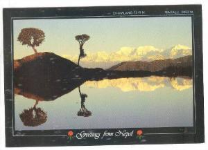Chamlang 7319M., and Makalu 8463M., Greetings from Nepal, 50-70s