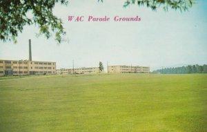 ANNISTON, Alabama, 40-60s; Fort McClellan, WAC Parade Grounds & Living Quarters