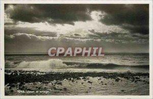 Postcard Modern Day storm