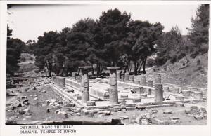 Greece Olympie Temple de Junon Photo