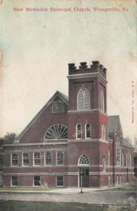 YOUNGSVILLE , Pennsylvania, 1910 ; New Methodist Episcopal Church