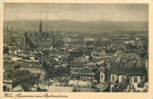 Austria Vienna panorama 1934